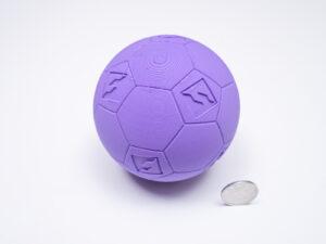 PLAを使って造形したサッカーボール